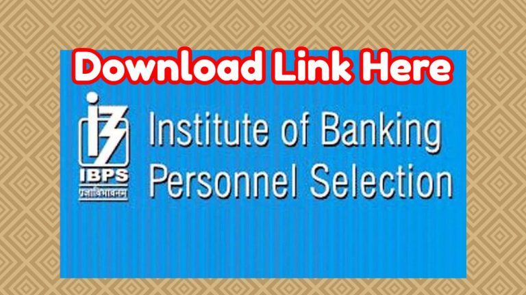 IBPS SO Admit Card 2019 has been released – Download Link