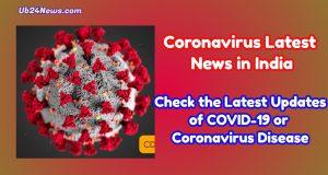 Coronavirus Latest News in India