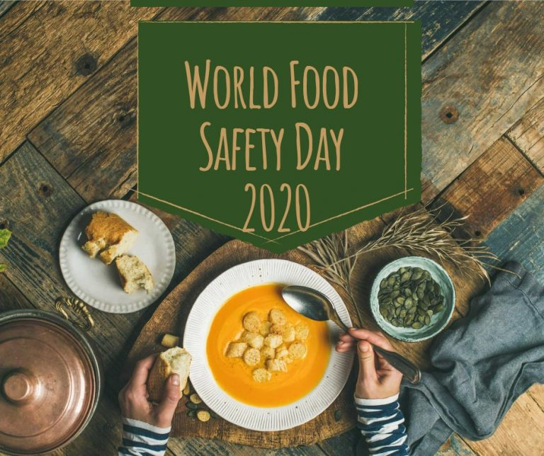 World Food Safety Day 2020 theme Food safety Everyone's Business