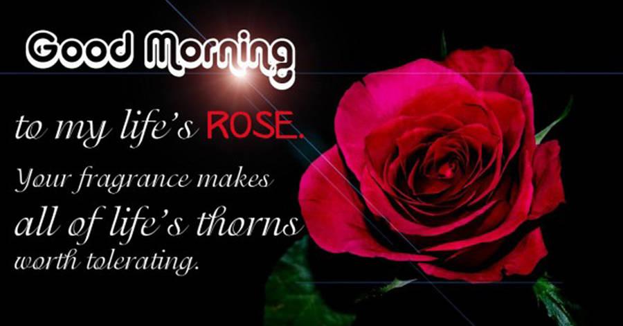 good morning images love shayari