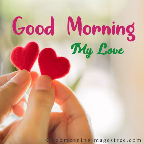 good morning images couple