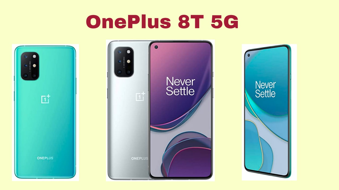 OnePlus 8T 5G Colors